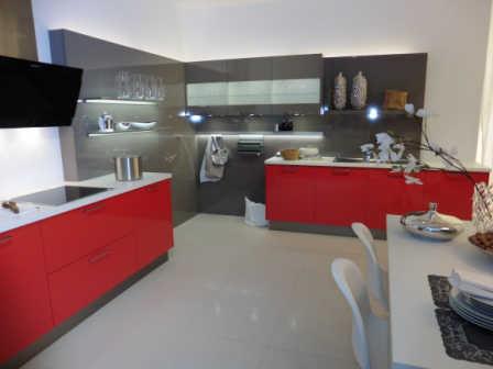 Moderne Hochglanzküche